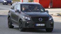 2012 Mercedes Benz ML63 AMG spied 25.03.2011