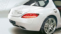 Mercedes-Benz SLS AMG Gullwing leaked images