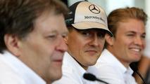 Haug backs Schumacher for Mercedes' 2011 team lineup