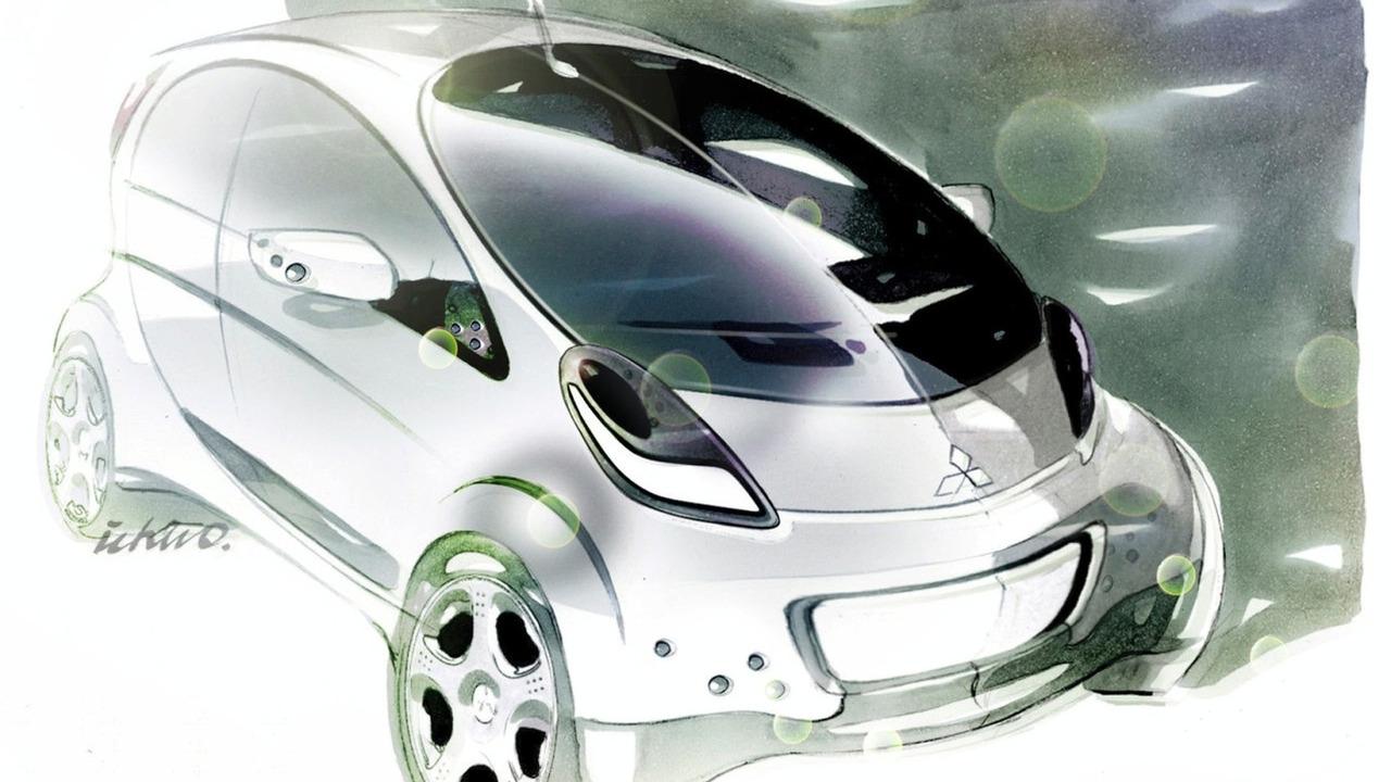 Mitsubishi Prototype i-Miev Concept 2009