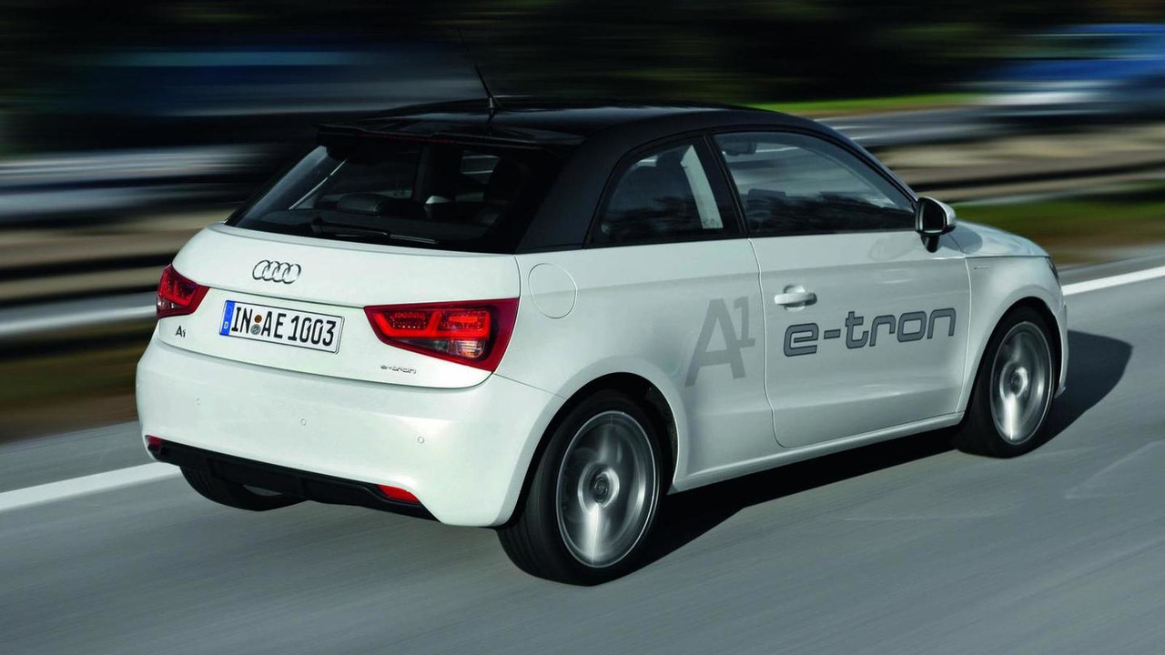 Audi A1 e-tron production version 10.11.2010