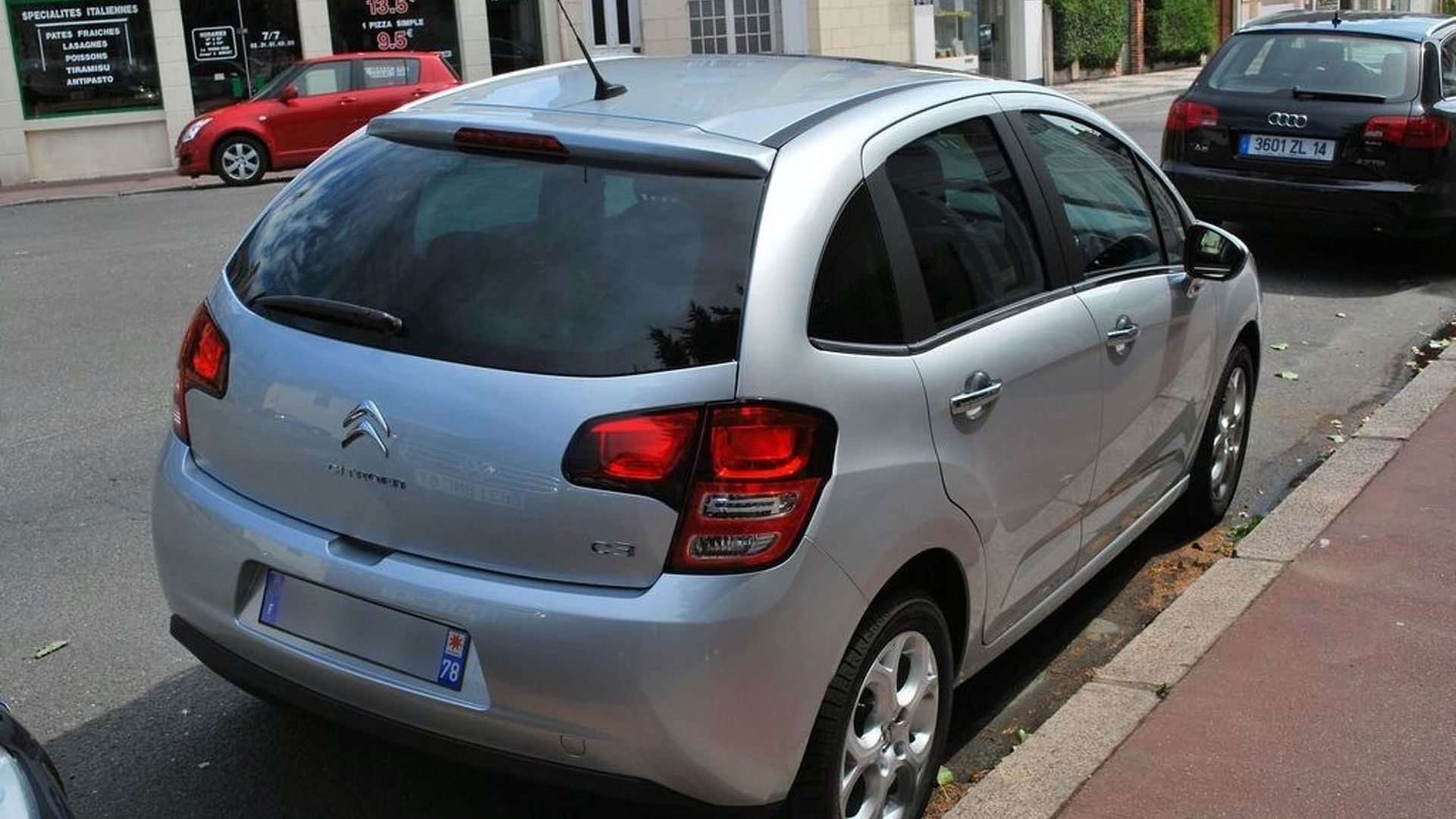 New Citroen C3 snapped on the street