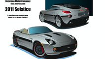 2011 Pontiac Solstice could be revived by DeLorean