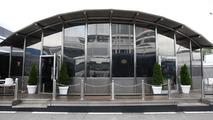 Mercedes hospitality motorhome, Spanish Grand Prix, 06.05.2010 Barcelona, Spain