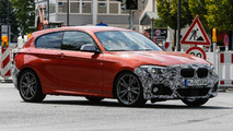 BMW 1-Series facelift spy photo