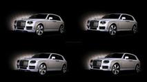 Rolls-Royce crossover concept render