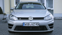 Volkswagen Golf R Estate spy photo