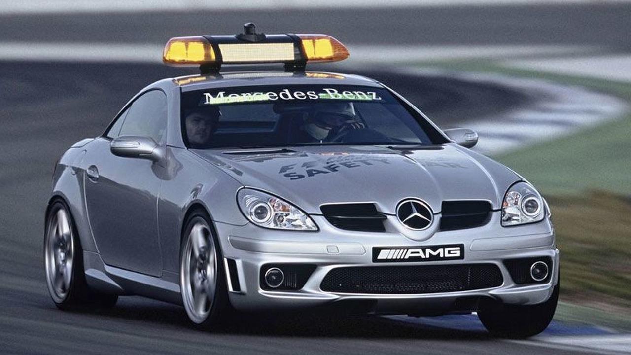 MB SLK 55 AMG is official FIA Formula 1 Safety Car