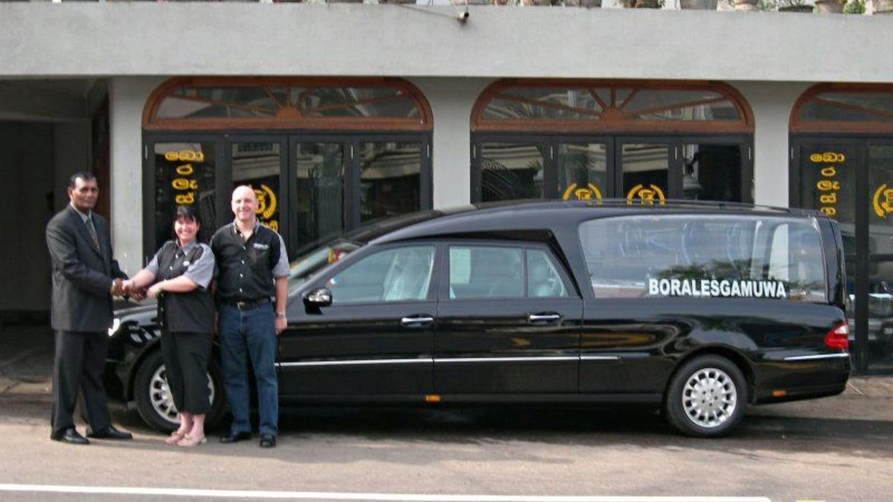 Binz hearse exported to Sri Lanka