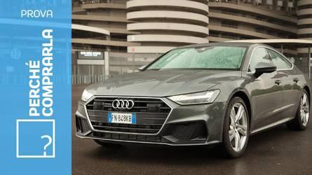 Audi A7 Sportback, perché comprarla... e perché no