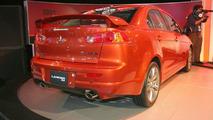 Mitsubishi Lancer RalliArt Unveiled at Detroit