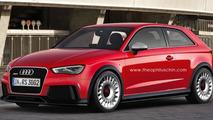 Audi RS3 speculative render