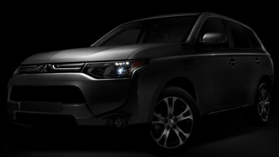 Mitsubishi previews 2014 Outlander