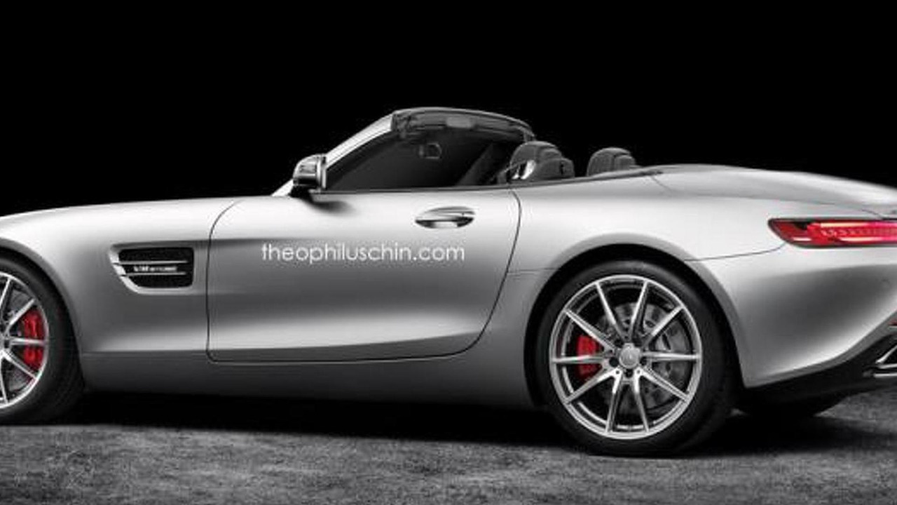 Mercedes-AMG GT Roadster render