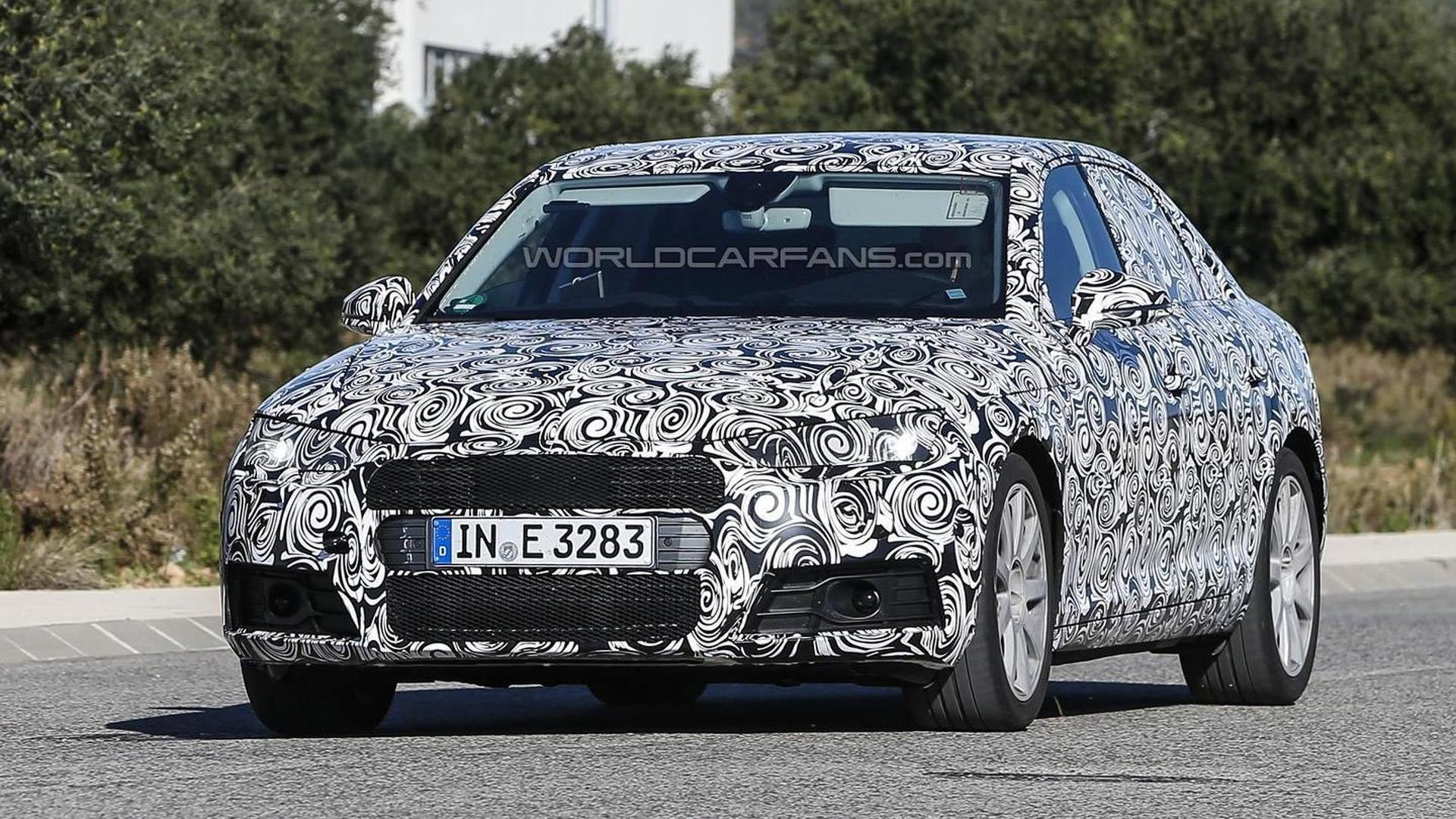 2016 Audi A4 hides its sharper design in latest spy shots