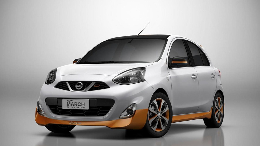 Nissan March Rio 2016 Edition goes official with visual tweaks
