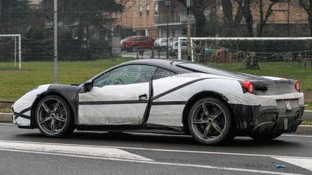 Ferrari 458 M spied showing new details