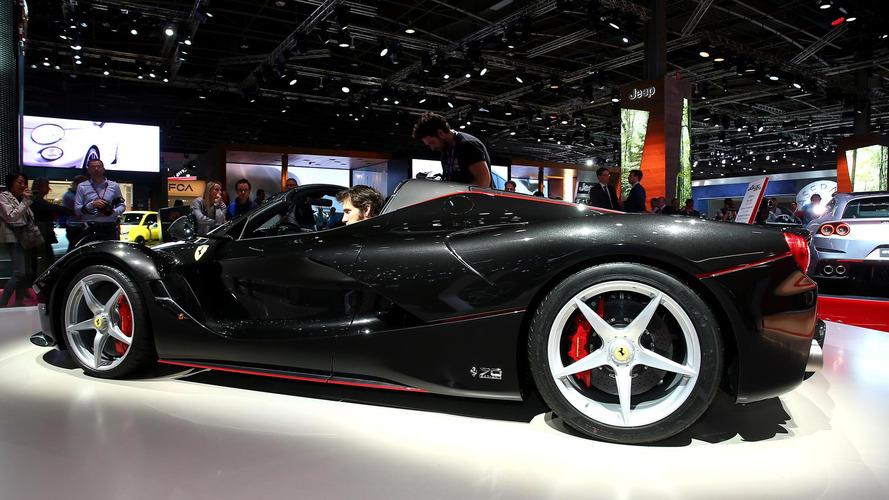 2016 Ferrari LaFerrari Aperta at Paris Motor Show