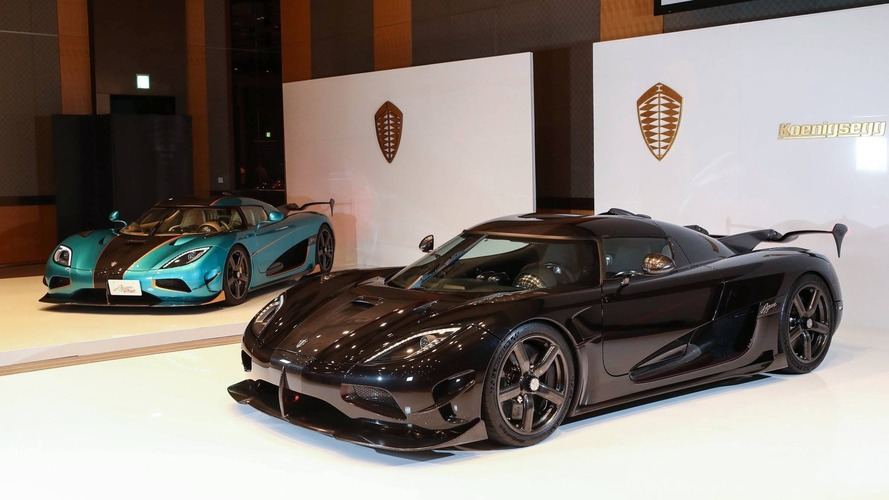 Koenigsegg Agera RSR unveiled for Japan