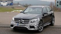 Mercedes-AMG tests V8-powered GLC 43 prototype to prepare GLC 63