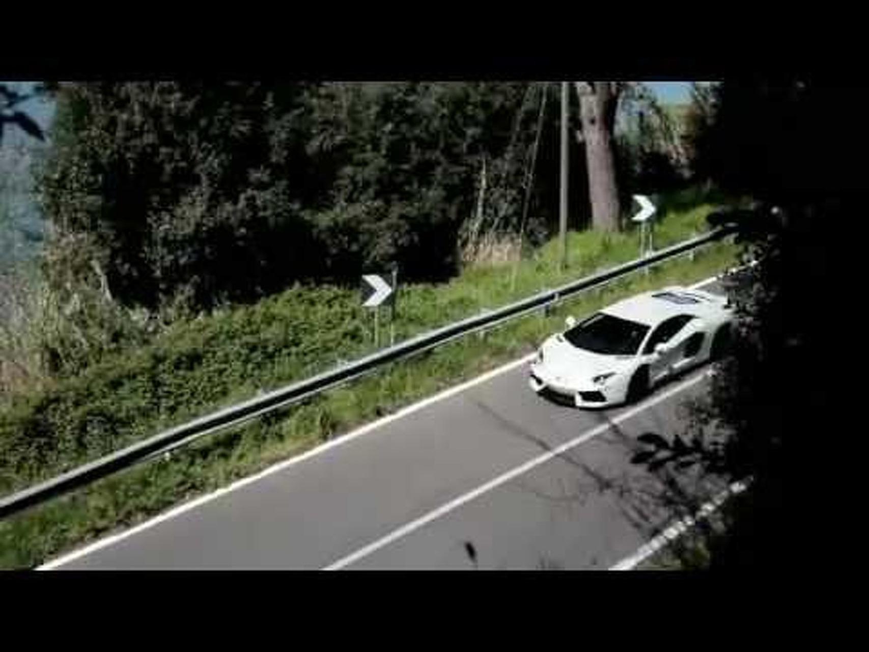 2012 Lamborghini Aventadors LP700-4 Racing Near Rome, Italy