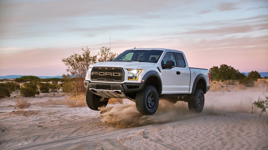 Ford showcases off-road prowess of the F-150 Raptor