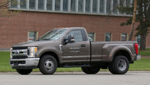 2017 Ford F-350 XLT Single Cab Dually spied in Michigan