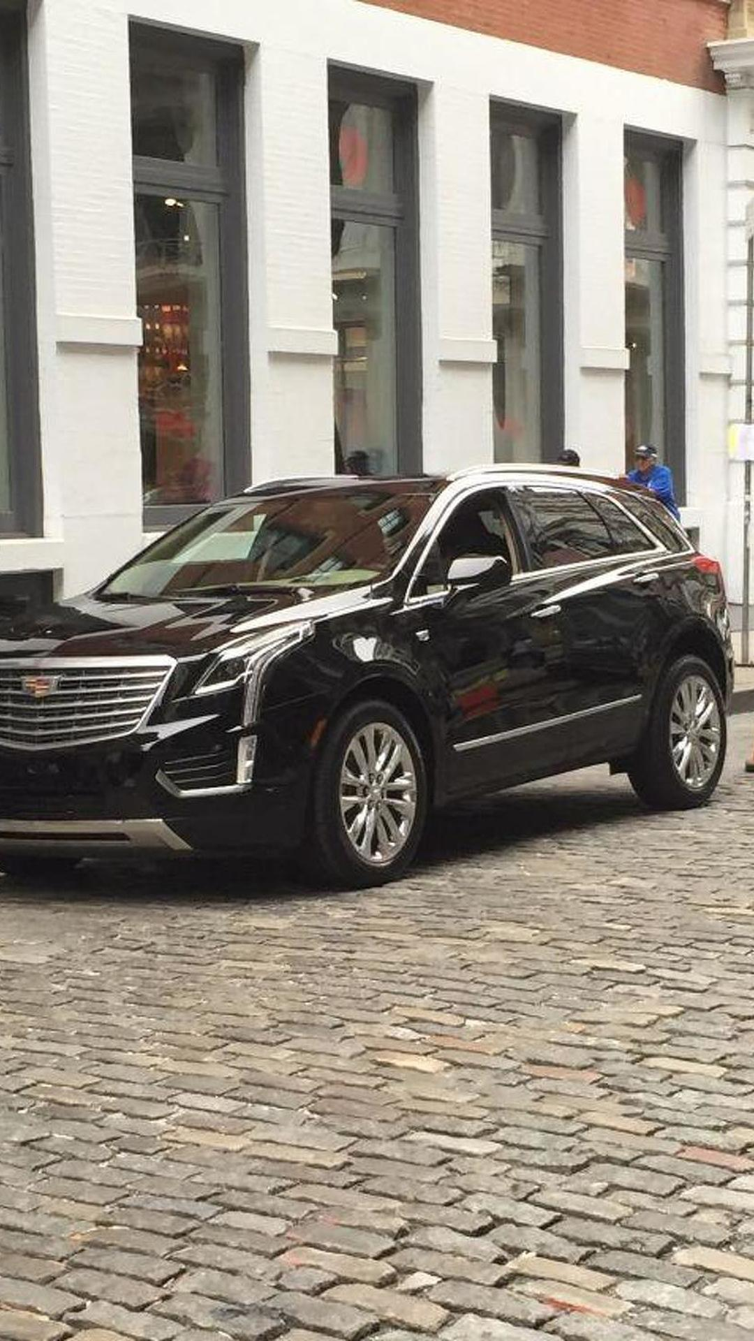 Cadillac XT5 photographed undisguised in New York