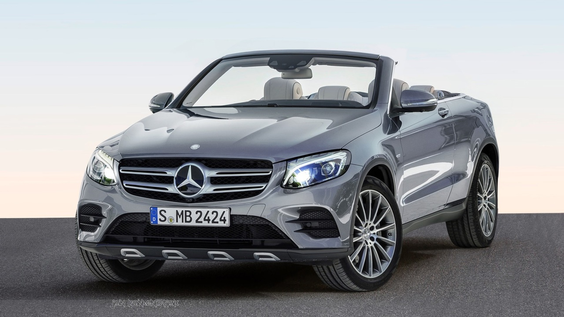 Mercedes GLC Convertible gets rendered