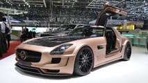 Mercedes SLS AMG tuned into the HAMANN HAWK