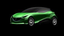 Mazda Kodo design language applied to Mazda3 screenshot, 960, 09.09.2010