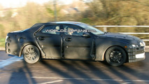 New 2012 Jaguar XJ first full body prototype spy photos