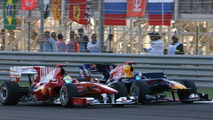 Red Bull not 'ridiculously faster' than Ferrari