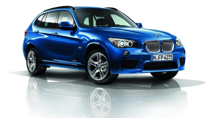 BMW X1 with M package photos leaked