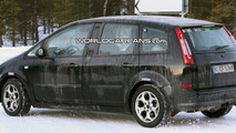 New generation Ford C-Max test mule spied winter testing