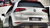 Volkswagen Golf GTI tuned to 308 HP by HG Motorsport [video]
