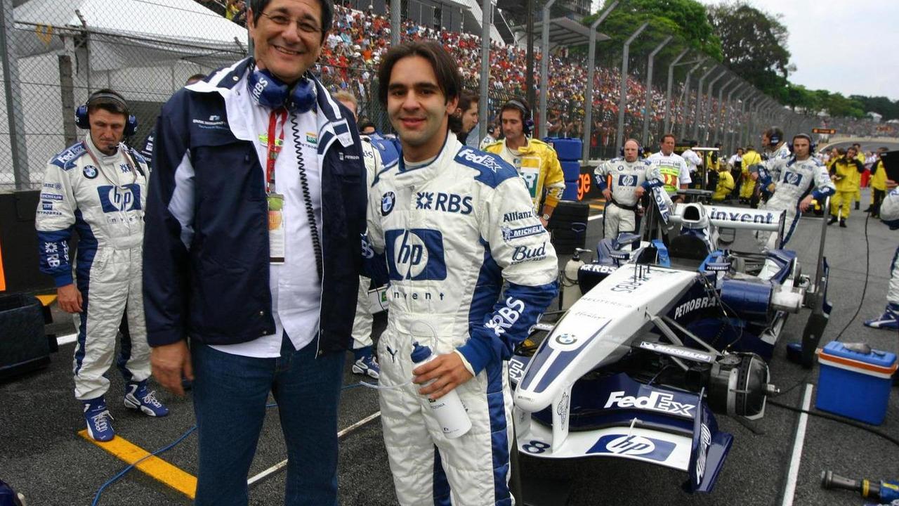 Antonio Pizzonia BMW Williams F1 Team 25.09.2005 Brazilian Grand Prix