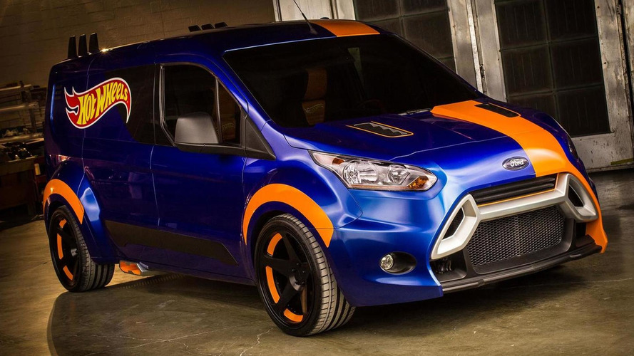2014 Ford Transit Connect Hot Wheels debuts at SEMA [video]