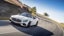 Mercedes-Benz SL facelift first five videos show it all