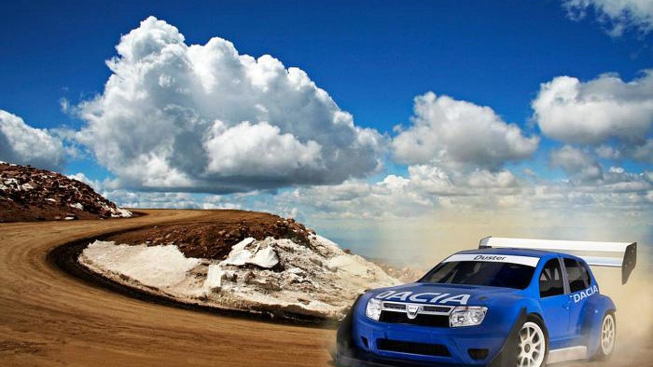 Dacia Duster rally car for Pikes Peak, 800, 19.5.2011