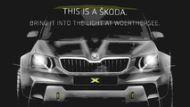 Skoda teases more aggressive Yeti concept for Worthersee