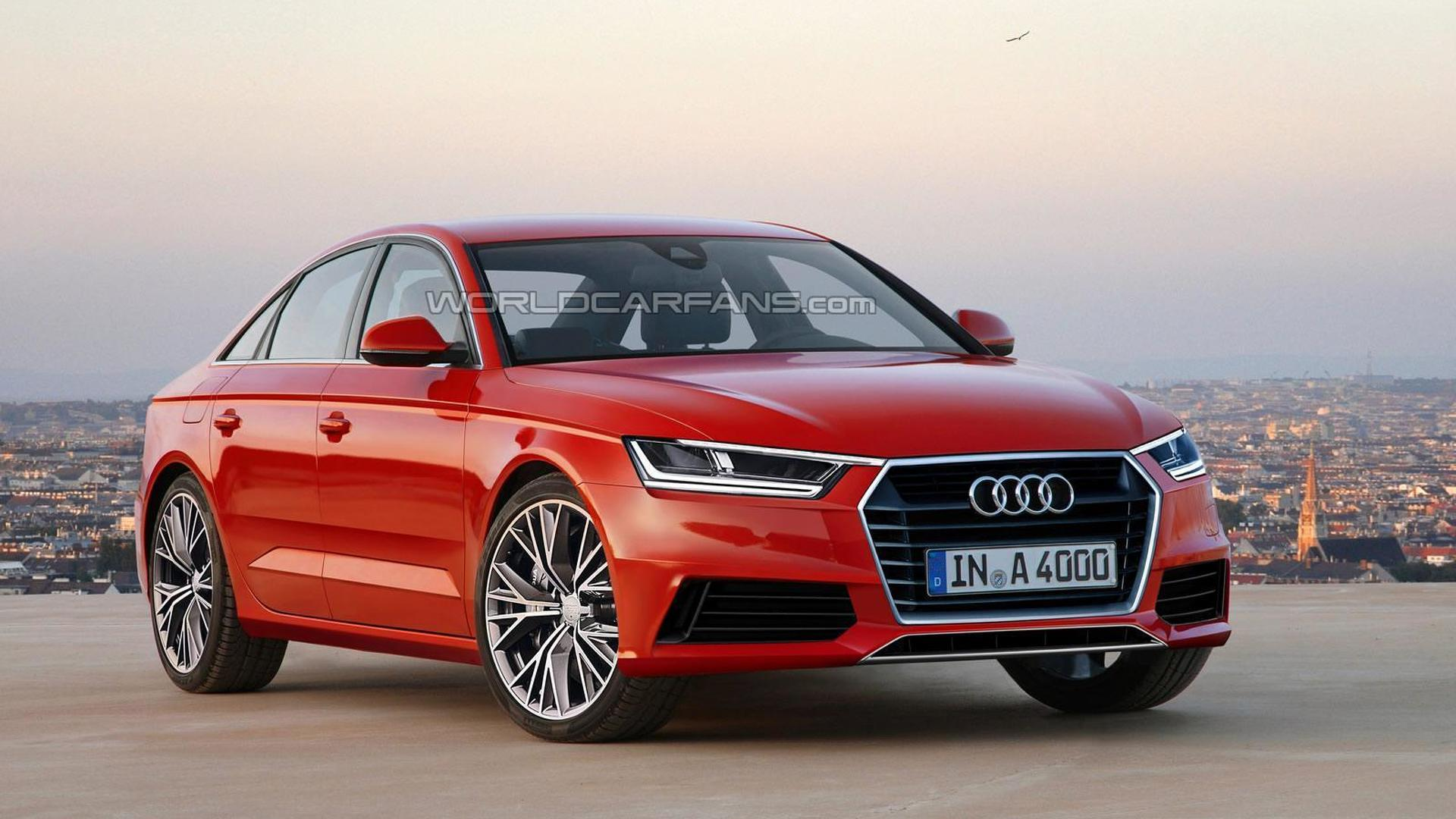 Next generation Audi A4 and A4 Avant speculatively rendered