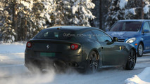 2016 Ferrari FF spied undergoing cold weather testing