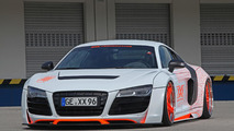 Audi R8 slammed to the road by xXx Performance
