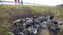 Lamborghini Huracan totaled in Hungary is now for sale