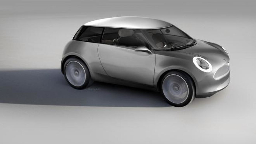 MINI Zero concept speculatively rendered