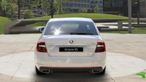2013 Skoda Octavia RS leaked photo 13.12.2012