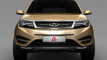 Chery Beta 5 concept headed to Shanghai