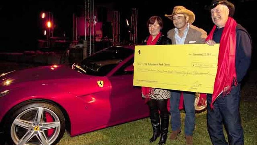 First U.S.-spec Ferrari F12 Berlinetta auctioned for 1.125M USD