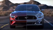 VIDÉO - La Ford Mustang avant/après